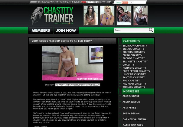 chastity trainer chastitytrainer.com
