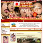 Cheap Japanese Bukkake Orgy