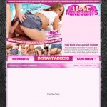 Discounted price to I Love Miniskirts