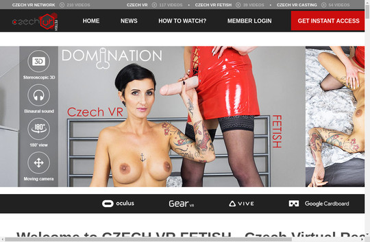 Czech Vr Fetish, czechvrfetish.com