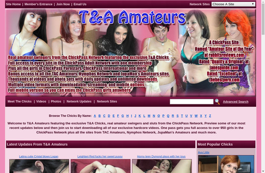Tanda Amateurs, discount.tandaamateurs.com