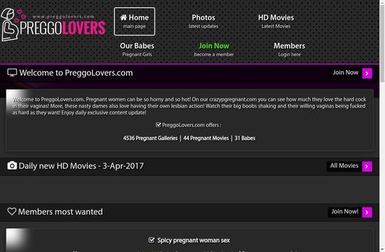 Preggo Lovers, preggolovers.com
