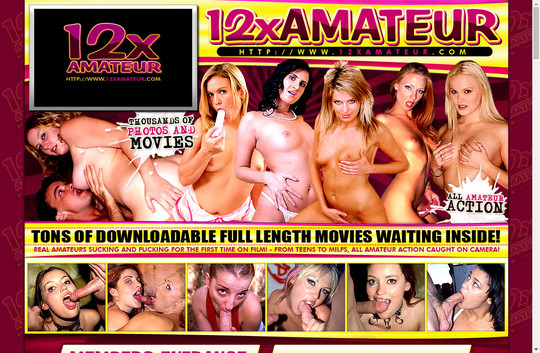 Time limited 12xAmateur.com free discount