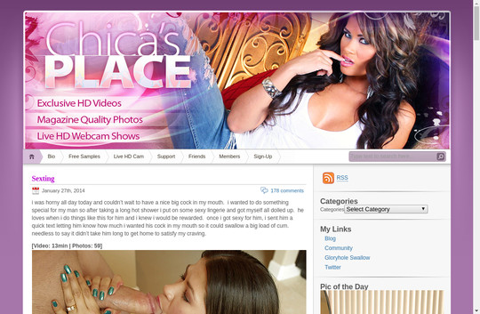 Chica 's Place, chicasplace.com
