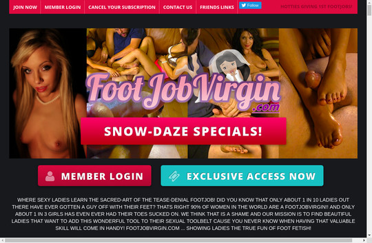 Footjob Virgin, footjobvirgin.com