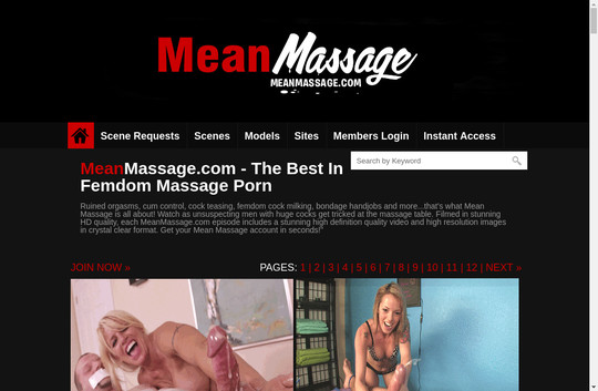 Mean Massage, meanmassage.com