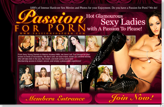 Free PassionForPorn.com discount