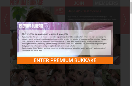 Premium Bukkake, premiumbukkake.com