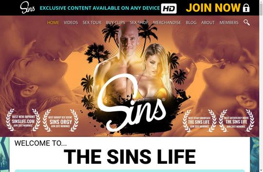 Sins Life, nats.thesinslife.com