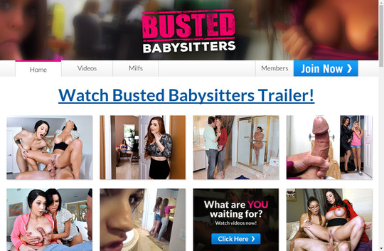 Time limited bustedbabysitters.com free discount