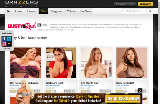 Busty And Real, brazzersnetwork.com