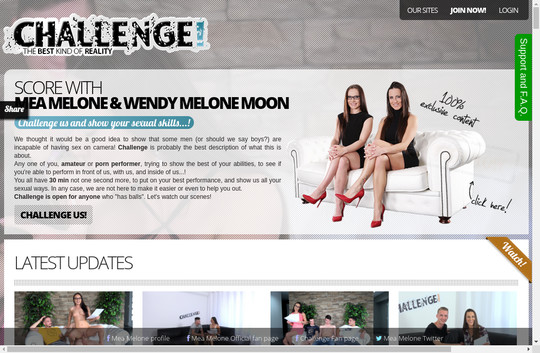 Discounted price to Melone Challenge