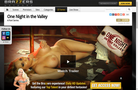 One Night in the Valley, brazzersnetwork.com