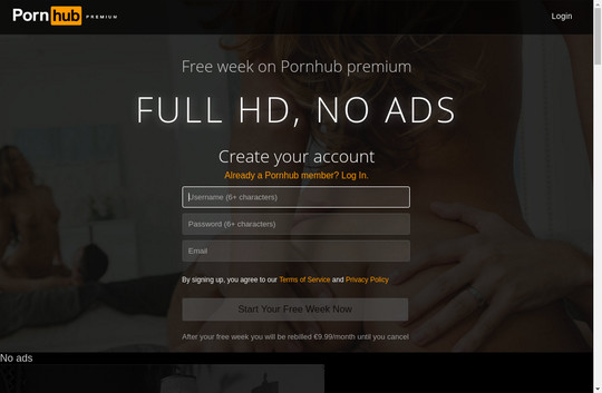 Discounted price to Pornhub Premium Lesbians