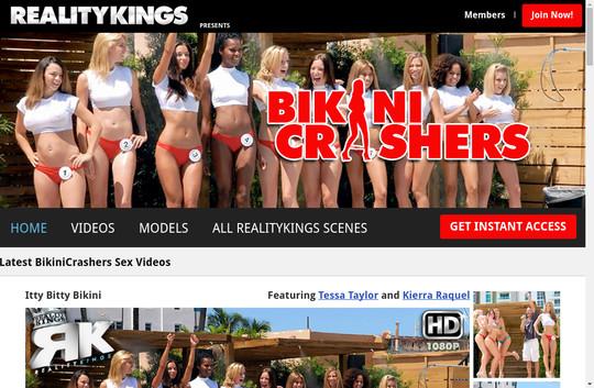 Bikini Crashers, bikinicrashers.com