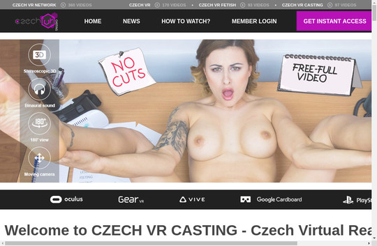 Time limited czechvrcasting.com discounted price