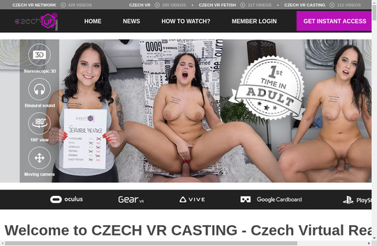 Get czechvrcasting.com discounted price