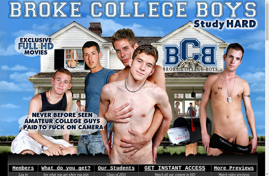 Broke College Boys, brokecollegeboys.com
