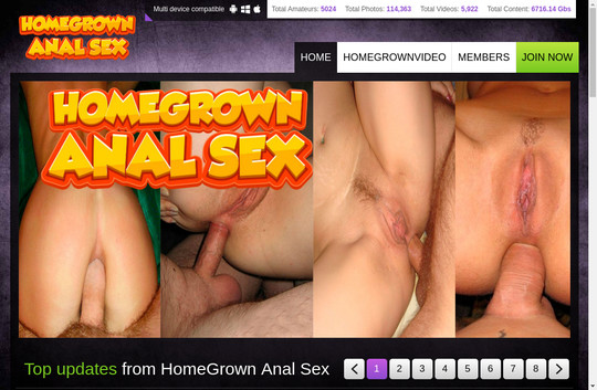 Homegrown Anal Sex, anal.homegrownvideo.com