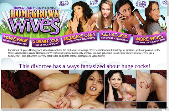 Get wives.homegrownvideo.com discounted price
