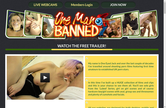 One Man Banned, onemanbanned.tv