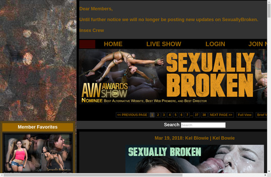 Sexually Broken, sexuallybroken.com