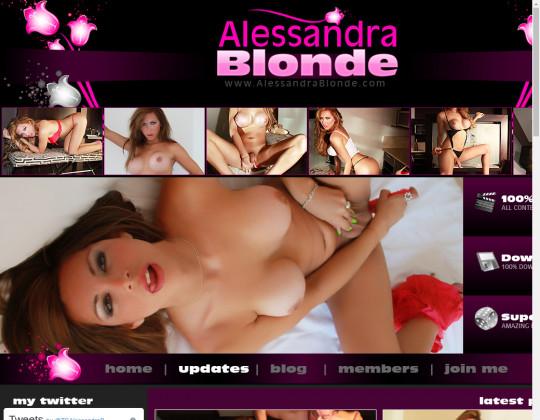 Alessandra blonde, alessandrablonde.com