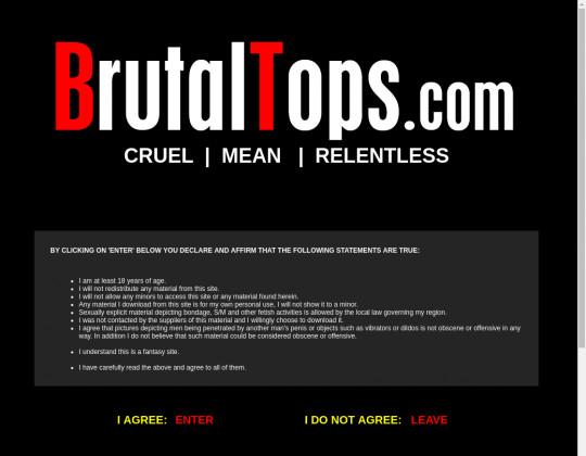 Discount Brutal tops