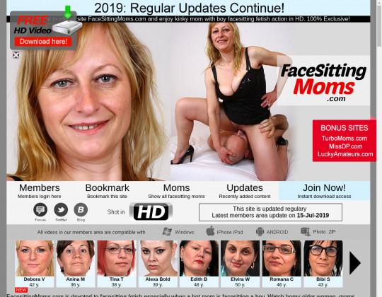 Facesittingmoms.com discount