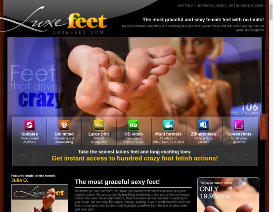Luxe feet, luxefeet.com