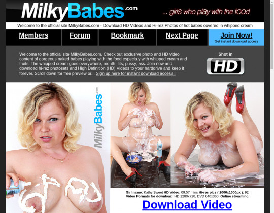 Milky babes, milkybabes.com