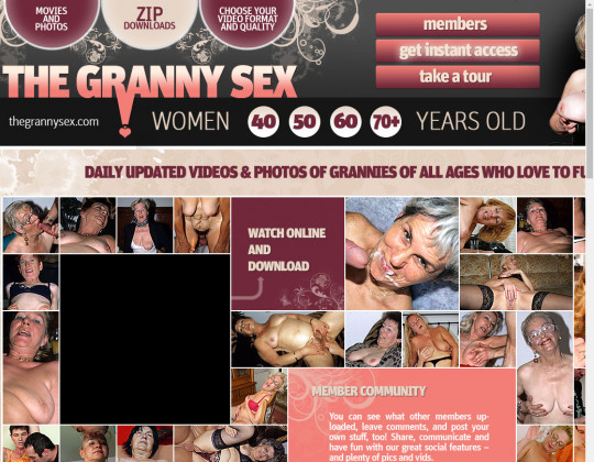 Cheap The granny sex