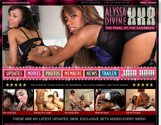 Alyssa divine xxx, alyssadivinexxx.com