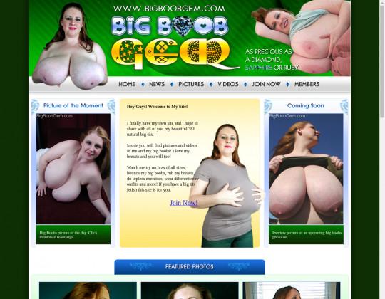 Bigboobgem.com discount