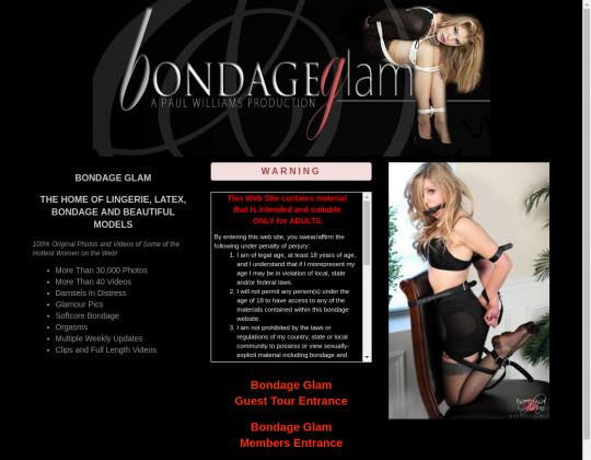 Bondage glam, bondageglam.com