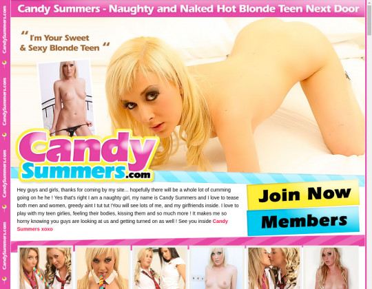 Candy summers, candysummers.com