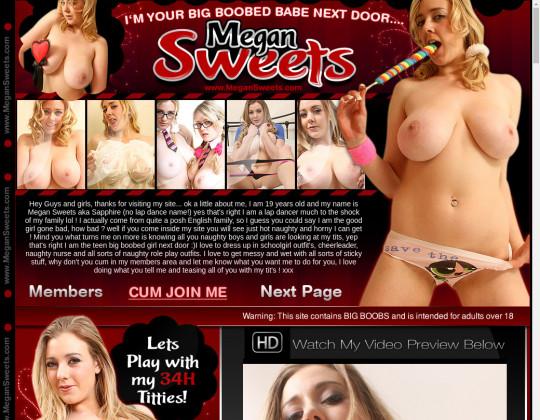 Megansweets.com discount