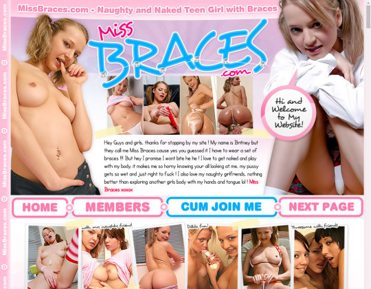 Dropped price Miss braces