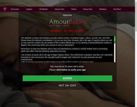 Redeem Amourbabes.com cheap porn