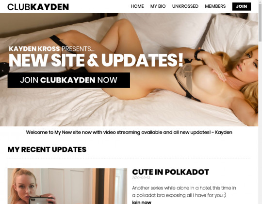 Discounted price to Club kayden