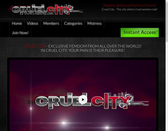 Cruel city, cruelcity.com