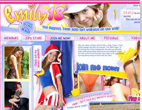 Emily18.com cheap porn