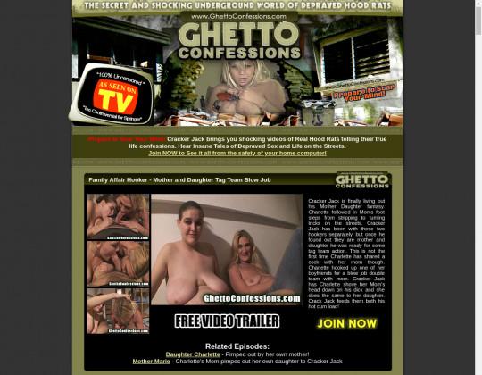 Ghettoconfessions.com cheap porn
