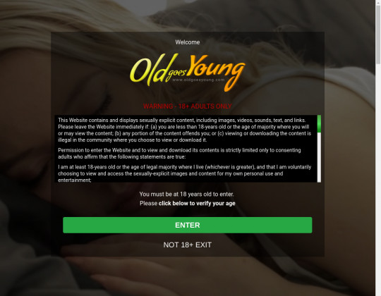 Discount Old goes young