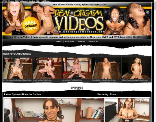 Real orgasm videos, realorgasmvideos.com