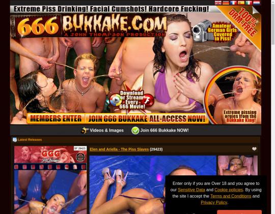 Cheap 666 bukkake