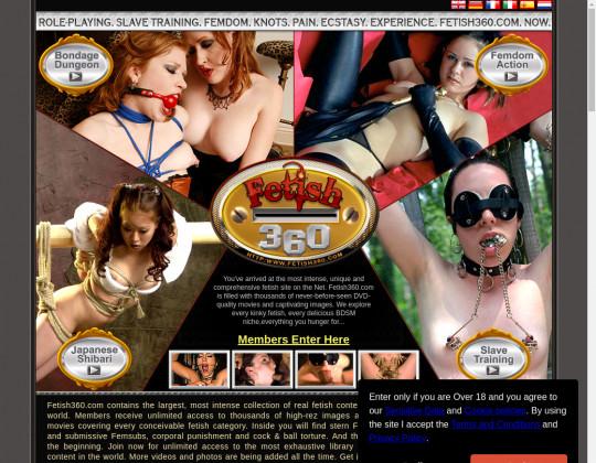 Redeem Fetish360.com cheap access