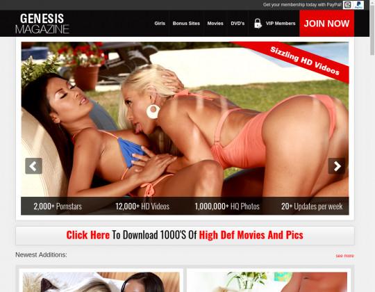 Dropped price Genesis magazine
