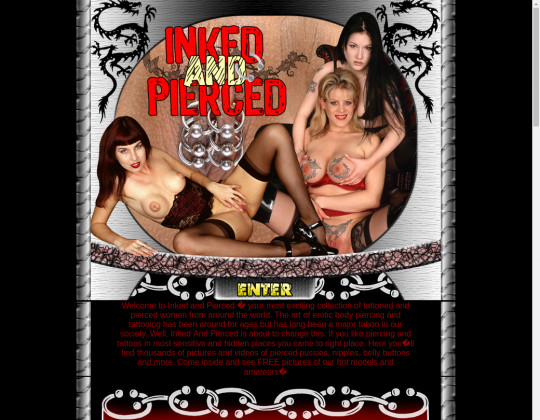 Inked and pierced, inkedandpierced.com