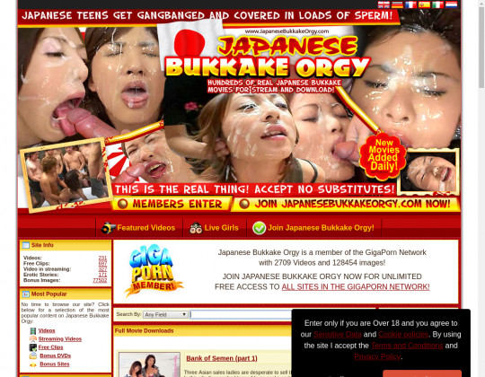 Japanesebukkakeorgy.com cheap porn